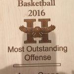 anna grone highland high school most oustanding offense varsity basketball 2015